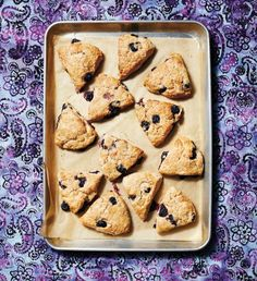 Whole wheat blueberry and ginger scones.  Giving these a go today :)
