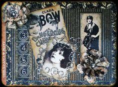 Searchsku: Clara Bow Altered Cigar Box View 2