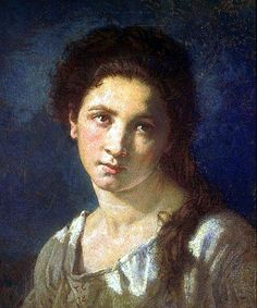 The Artist's Daughter by Thomas Couture