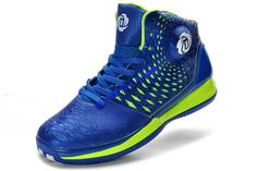 new concept 2a13d be109 Adizero Rose 3.5 Adidas Varsity Royal Blue Volt G48892 Derrick Rose Shoes  2013  61.71 Basketball Shoes