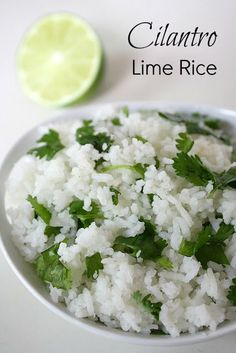 Nice healthy side dish. Similar to rice available at Chipotle's, though I believe they add a bit of butter or canola oil..