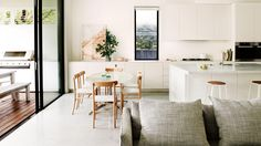 Tour a family home that's made for entertaining. Photography by Prue Ruscoe. Styling by Joseph Gardner.