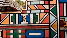 African Hut, African Tribes, African Design, Architecture, Pattern Design, Rainbow, Abstract, Ethnic, Mexico
