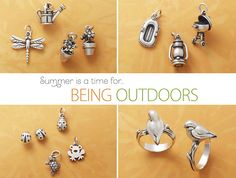 Outdoor Charms from #jamesavery