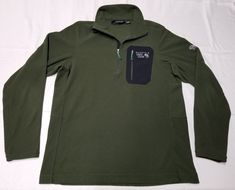 Color : Green See Photos. Mountain Hardwear, Trek, Camping, Athletic, Jackets, Color, Fashion, Campsite, Down Jackets