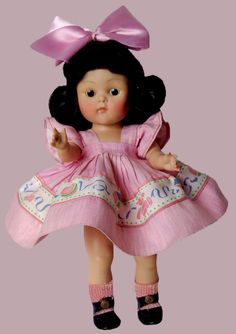 "8"" 1953 VOGUE PL GINNY DAWN/ALL ORIG BRUNETTE #30 KINDERGTARTEN SERIES"