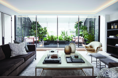 Hempel Gardens Penthouse Apartment by BradyWilliams Luxury Apartments, Luxury Homes, Coffee Table With Seating, Penthouse Apartment, Dream Apartment, Sofa Styling, Contemporary Sofa, Traditional Furniture, Luxury Interior Design