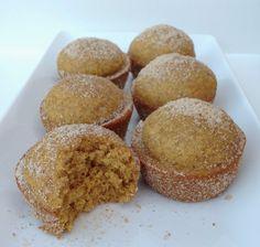Pumpkin donut muffins -Baby Boy Bakery .