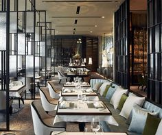 The French Window by AB Concept INDESIGNLIVE Restaurant interior Restaurant interior design Restaurant design