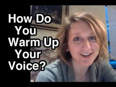 Vocal Warmups / Warm Up Your Singing Voice / Vocal Technique - YouTube http://www.voxsource.com/singing-lessons-online/