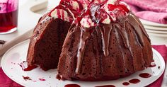 Earthy beetroot adds a moist indulgence and pop of colour to this gorgeous chocolate cake.