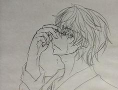 Pourquoi tu pleure?....pleure pas....c-c'est moi qui vas finir par pleuréééé T^T