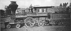 "The ""T.D. Judah"", was built as a 4-2-4 by the Cooke Locomotive Works in 1863. Was bought in 1872 and rebuilt as a 4-2-2 by Central Pacific Railroad."