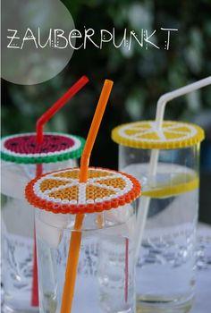 *ZAUBERPUNKT*: Orange .... Zitrone ..... Wassermelone { ein sommerliches DIY auch für Kinder }