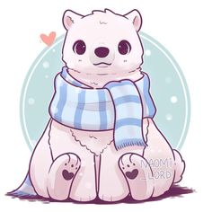 💙✨ trying to draw some Christmassy ish animals d… ✨💙 Kawaii Polar Bear! 💙✨ trying to draw some Christmassy ish animals during the build up to Christmas 😂💕 Any more requests for my kawaii… Cute Animal Drawings Kawaii, Cute Kawaii Animals, Cute Animals To Draw, Cute Drawings Of Animals, Doodles Kawaii, Kawaii Art, Kawaii Chibi, Polar Bear Drawing, Drawing Animals