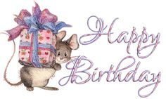 birthday mouse animated