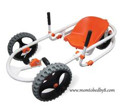 Hammacher Schlemmer The Lever Steering Pedal Go Kart Review & Giveaway