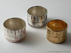 Joanna Campbell tape measure ring