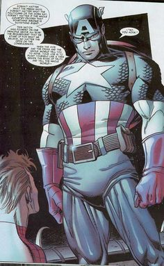 Captain America gives Spiderman the best pep talk EVER...click on the link & scroll down to read it