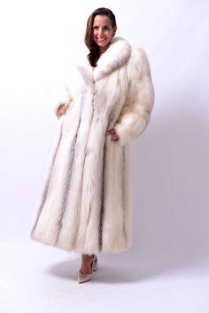 AMAZING SAGA BLUE FOX FUR COAT - class of lynx crystal silver fox mink | Clothing, Shoes & Accessories, Women's Clothing, Coats & Jackets | eBay!