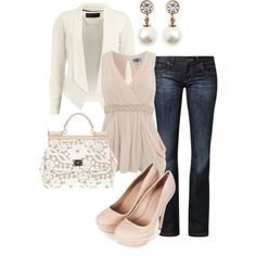 Neutral night out by cami-sue on Polyvore