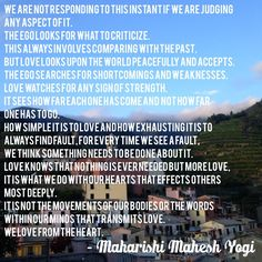 #quote #inspire #inspiration #maharishi #meditation #inspirational #love