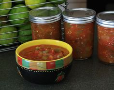 Canned homemade salsa is the gift from your garden that keeps on giving! http://blog.hgtvgardens.com/canned-homemade-salsa-is-the-gift-that-keeps-on-giving/?soc=pinterest #diy #recipe