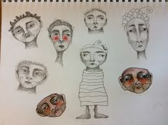 Deb Weiers - Whimsical Faces