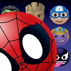 f3cdb9b031 Marvel Emoji  Official Merchandise at Zazzle