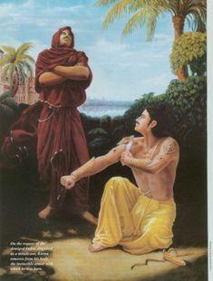 KARNA AND INDRA - http://iyadav.com/karna/