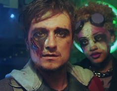 Josh Hutcherson as Amazing Marv in DJ Snake's music video for The Middle