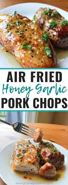 pork chop recipes How to make a simple and easy air fryer pork chops boneless recipe. You can use thin or thick cut pork chops with just a little seasoning to make this delicious main dish meal for families. Just look at that healthy keto recipe! Air Fry Pork Chops, Juicy Pork Chops, Fried Pork Chops, Fried Steak, Healthy Pork Chops, Air Fryer Dinner Recipes, Air Fryer Oven Recipes, Air Fryer Recipes Pork Chops, Moussaka
