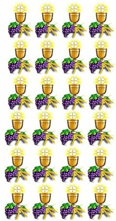 Primeira comunhao Première Communion, Communion Cakes, First Holy Communion, Recuerdos Primera Comunion Ideas, First Communion Decorations, Catholic Pictures, Sweet 15, Ideas Para Fiestas, Create And Craft