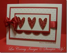 Stampin Up Valentine Cards | ... Valentine for their workshops. So this is a simple one I came up with