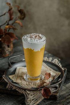 Cremiger Kabocha-Kürbis-Pudding   Regenbogen in meiner Küche Coconut Whipped Cream, Canned Coconut Milk, Coconut Yogurt, Dairy Free Pudding, Squash Puree, Pumpkin Pudding, Squashes, Rice Milk, Colors