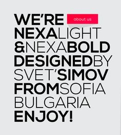 10 New Fresh Free Fonts (via Web Design Ledger http://webdesignledger.com/freebies/10-excellent-new-free-fonts#).  NEXA is my fave...what's yours?