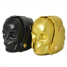 41fed7ad542f Fun Popular Cheap Fashion Unique Purses and Handbags With Chain Strap  Halloween Skull Head Bag Black Golden Mask Chain Cross Body Bags European  and American ...