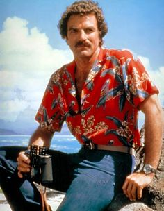 Ahhhh, the wonderful evenings when we stayed home to watch Magnum, P.I. during the 80s - the car, scenery, dogs, music, actors, all made this worthwhile and special. Mis this these days....
