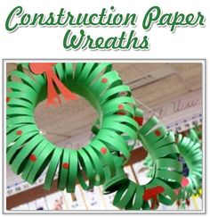 Construction Paper Wreath Craft and WHY it is an Important Christian Symbol