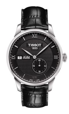 Tissot Watch Le Locle Automatic #bezel-fixed #bracelet-strap-leather #brand-tissot #case-depth-11-55mm #case-material-steel #case-width-39-3mm #date-yes #delivery-timescale-call-us #dial-colour-black #gender-mens #luxury #movement-automatic #official-stockist-for-tissot-watches #packaging-tissot-watch-packaging #style-dress #subcat-t-classic #supplier-model-no-t0064281605800 #warranty-tissot-official-2-year-guarantee #water-resistant-30m