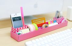DIY / Mon bureau girly organiser-bureau-girly-2 – the Trendy Girl