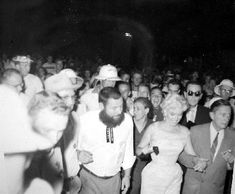 Marilyn Monroe in Bement, Illinois, for the Bement Centennial, August 1955.