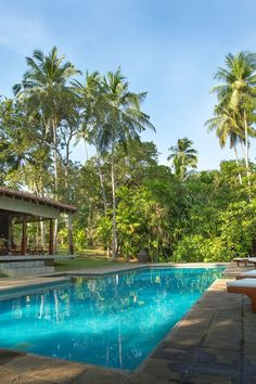 Take a dip in the secluded, tree-shaded outdoor pool. #Jetsetter