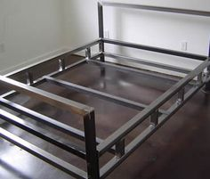 SS400 steel angle used as bed frame.