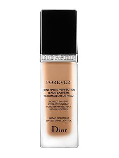 Dior Diorskin Forever Perfect Makeup Smooth a thin layer over your skin and watch redness and enlarged pores practically disappear as your blend. (Yep, it's basically a real-life Instagram filter.)  Dior Diorskin Forever Perfect Makeup, $50 (dior.com).