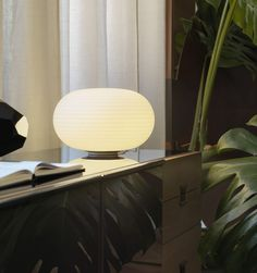 The Bianca table lamp designed by Matti Klenell, uses the Venetian production process and technique which consists of a mouth-blown glass fixture that is belt sanded and dipped in acid to gain a silky smooth texture/finish. See more glass lighting at LightForm.ca
