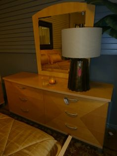 High gloss dresser and mirror from Rooms To Go. Measures 70 x 21 x 32. Matching bed with nightstands available at time of posting. Arrived: Tuesday August 30th, 2016