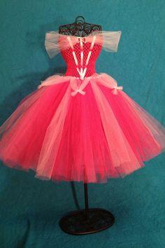 princess tutu costume | Princess Aurora Tutu Dress Girls 4T 5T by TulleBoxTutus on Etsy