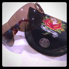 01b3b5614f2d Ed Hardy Sunglasses Ed Hardy Sunglasses. Worn lightly, like new. Comes with  case. Sunglasses Accessories
