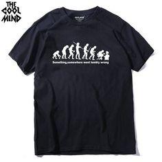 7166471e1021 Something Went Terribly Wrong Men s T-Shirt. Mens Tee ShirtsCasual ...
